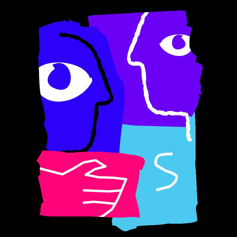 Business deal Clipart illustration in PNG, SVG
