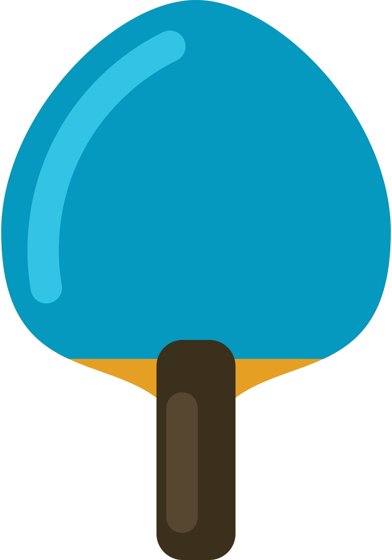 style ping pong paddle Vector images in PNG and SVG | Icons8 Illustrations
