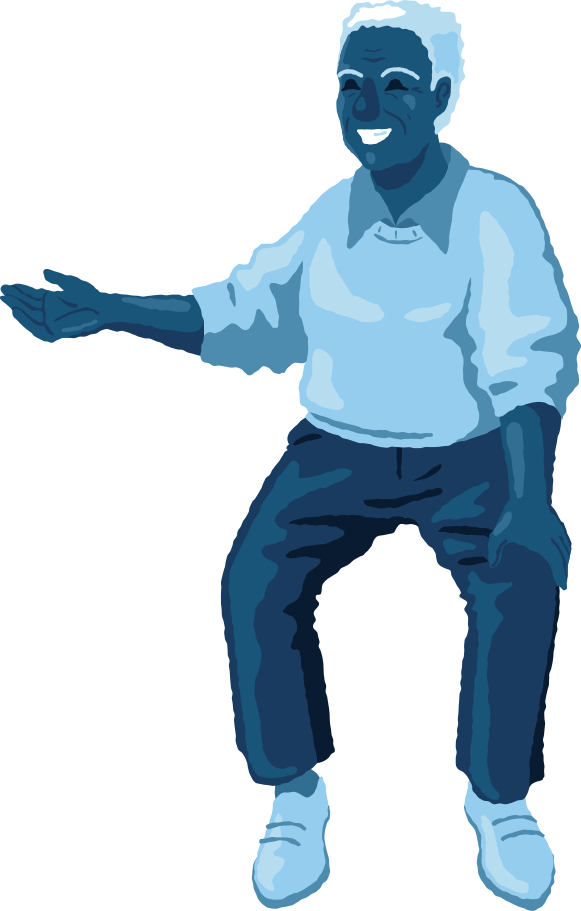 style old man sitting front Vector images in PNG and SVG | Icons8 Illustrations