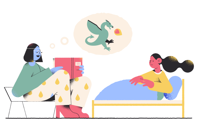 style Bedtime story Vector images in PNG and SVG | Icons8 Illustrations