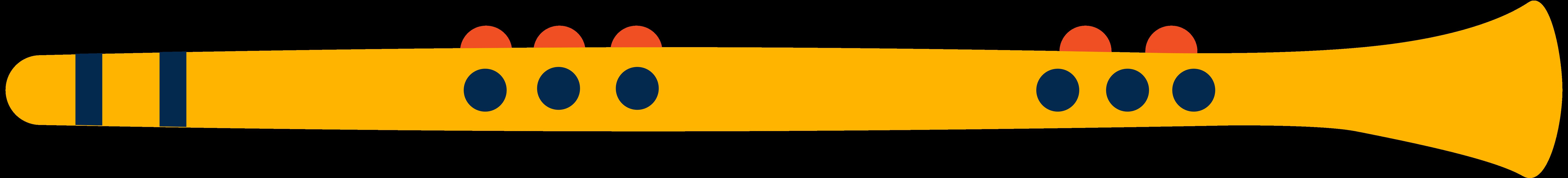flute Clipart illustration in PNG, SVG