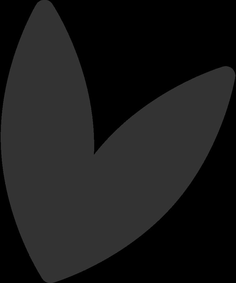 Bald kommen 2 blätter Clipart-Grafik als PNG, SVG