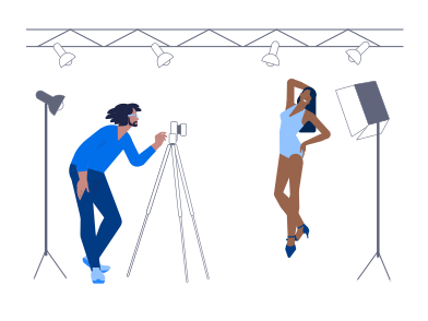 style Fashion Shooting images in PNG and SVG | Icons8 Illustrations