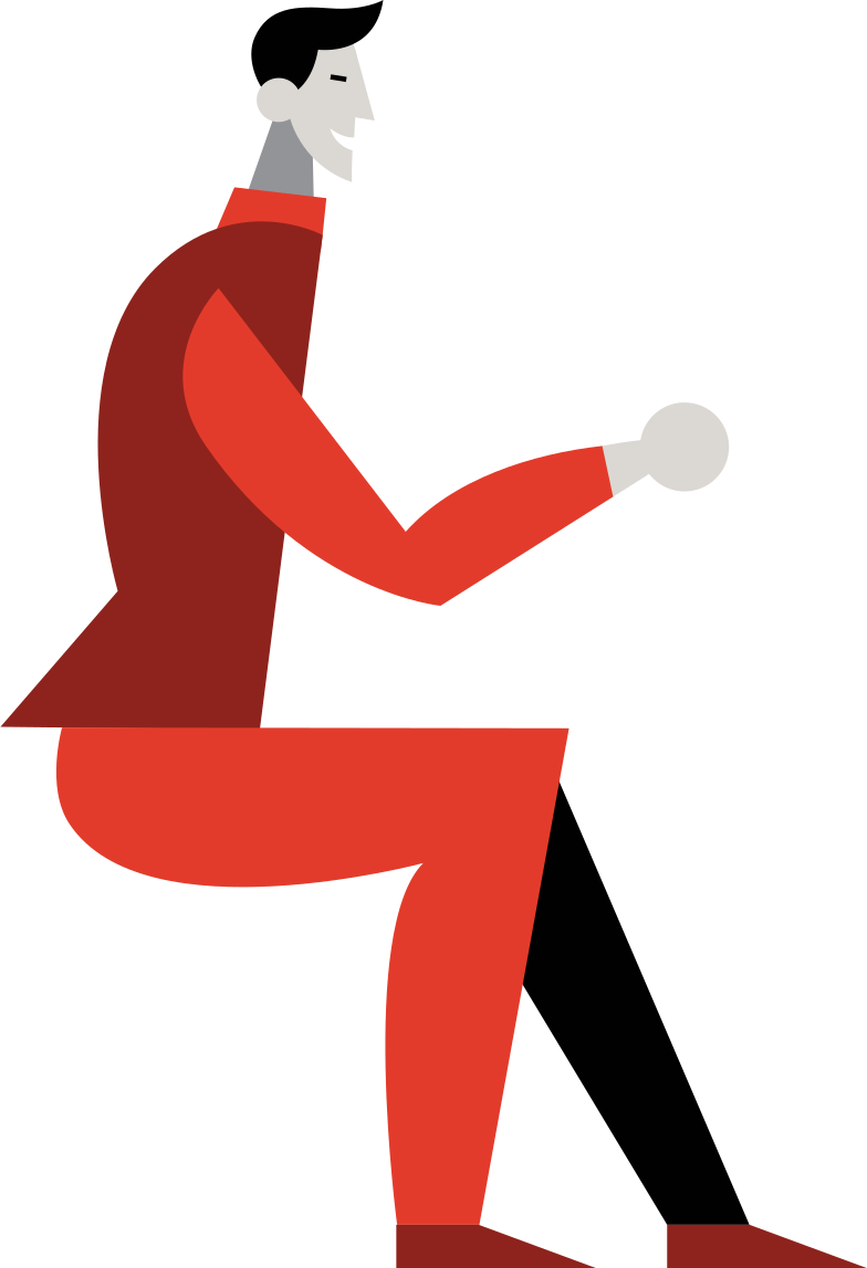 seated-men Clipart illustration in PNG, SVG