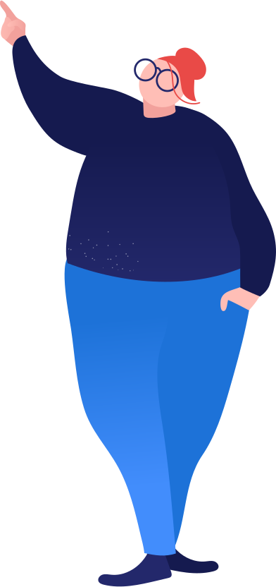 style fat woman showing images in PNG and SVG | Icons8 Illustrations