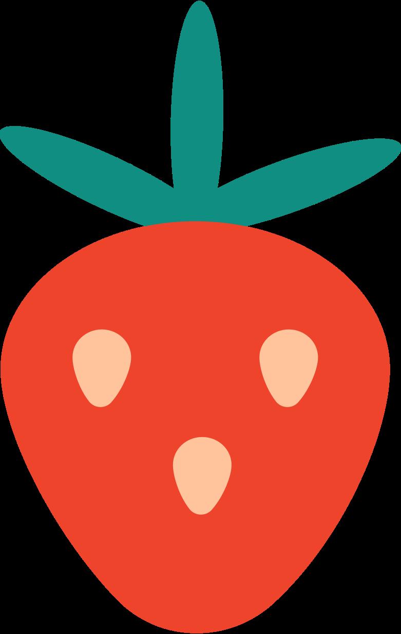 erdbeere Clipart-Grafik als PNG, SVG