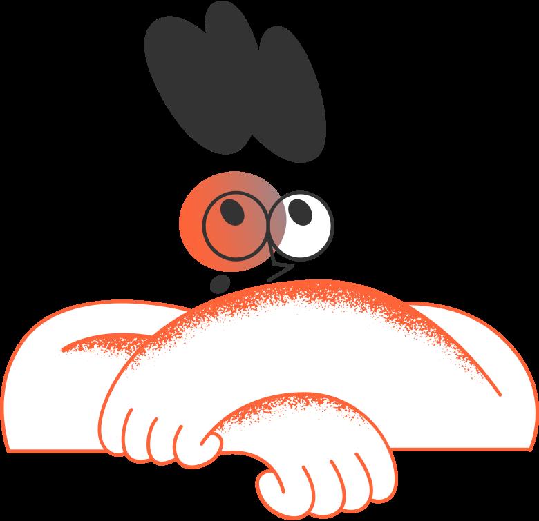 fatal error  man Clipart illustration in PNG, SVG