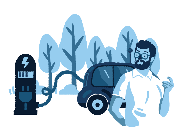style Electric car service  Vector images in PNG and SVG | Icons8 Illustrations