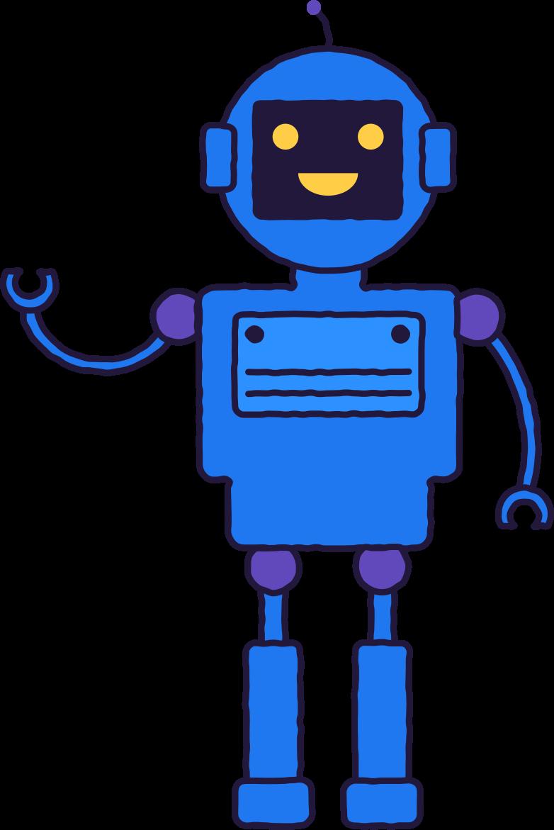 toy robot Clipart illustration in PNG, SVG