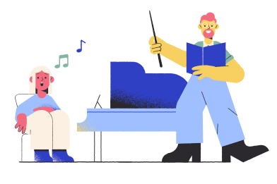 style Music lesson images in PNG and SVG | Icons8 Illustrations