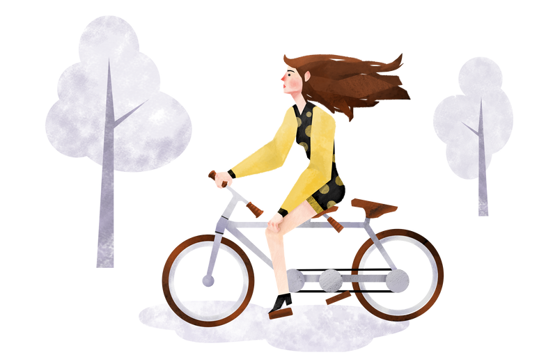 style Ride a bike Vector images in PNG and SVG | Icons8 Illustrations