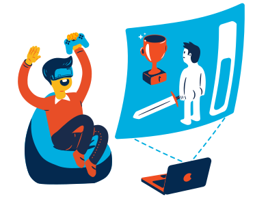 style VR game images in PNG and SVG | Icons8 Illustrations