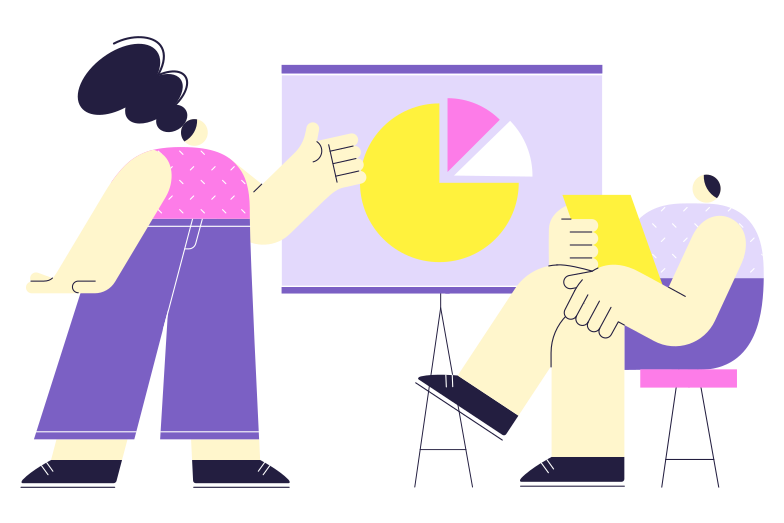 Analytics Clipart illustration in PNG, SVG