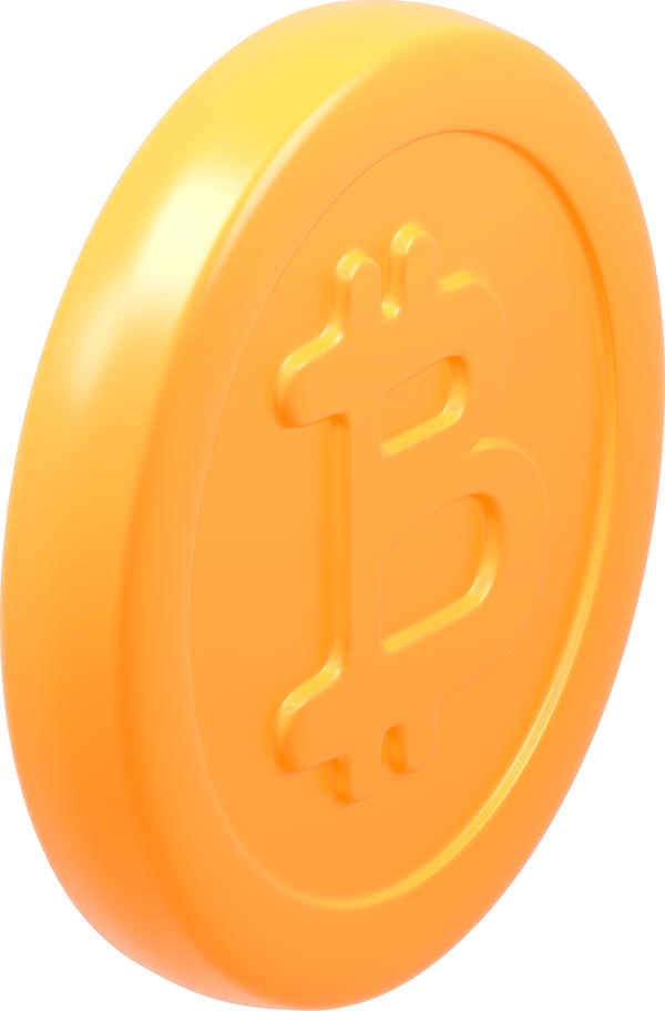 bitcoin standing Clipart illustration in PNG, SVG
