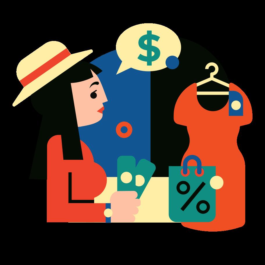Imagem vetorial de Compras estilo  em PNG e SVG | Ilustrações do Icons8