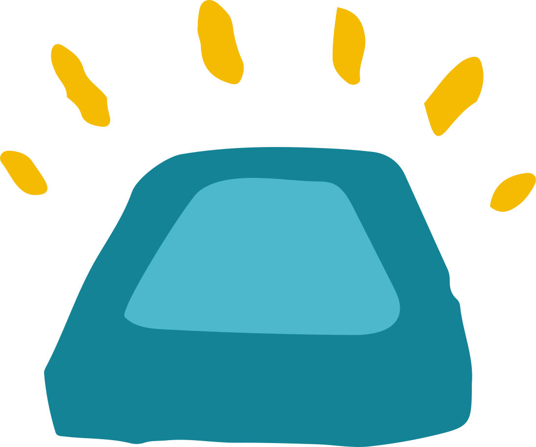 alarm box Clipart illustration in PNG, SVG