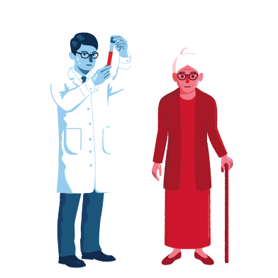 style Elderly care images in PNG and SVG | Icons8 Illustrations