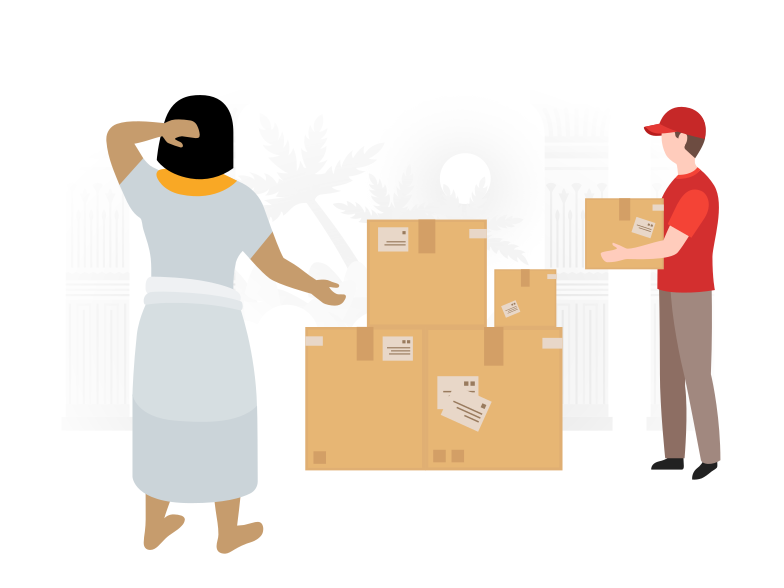 style Delivery from the future Vector images in PNG and SVG | Icons8 Illustrations