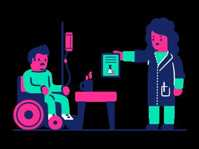 style Mauvaises nouvelles sur la santé images in PNG and SVG | Icons8 Illustrations