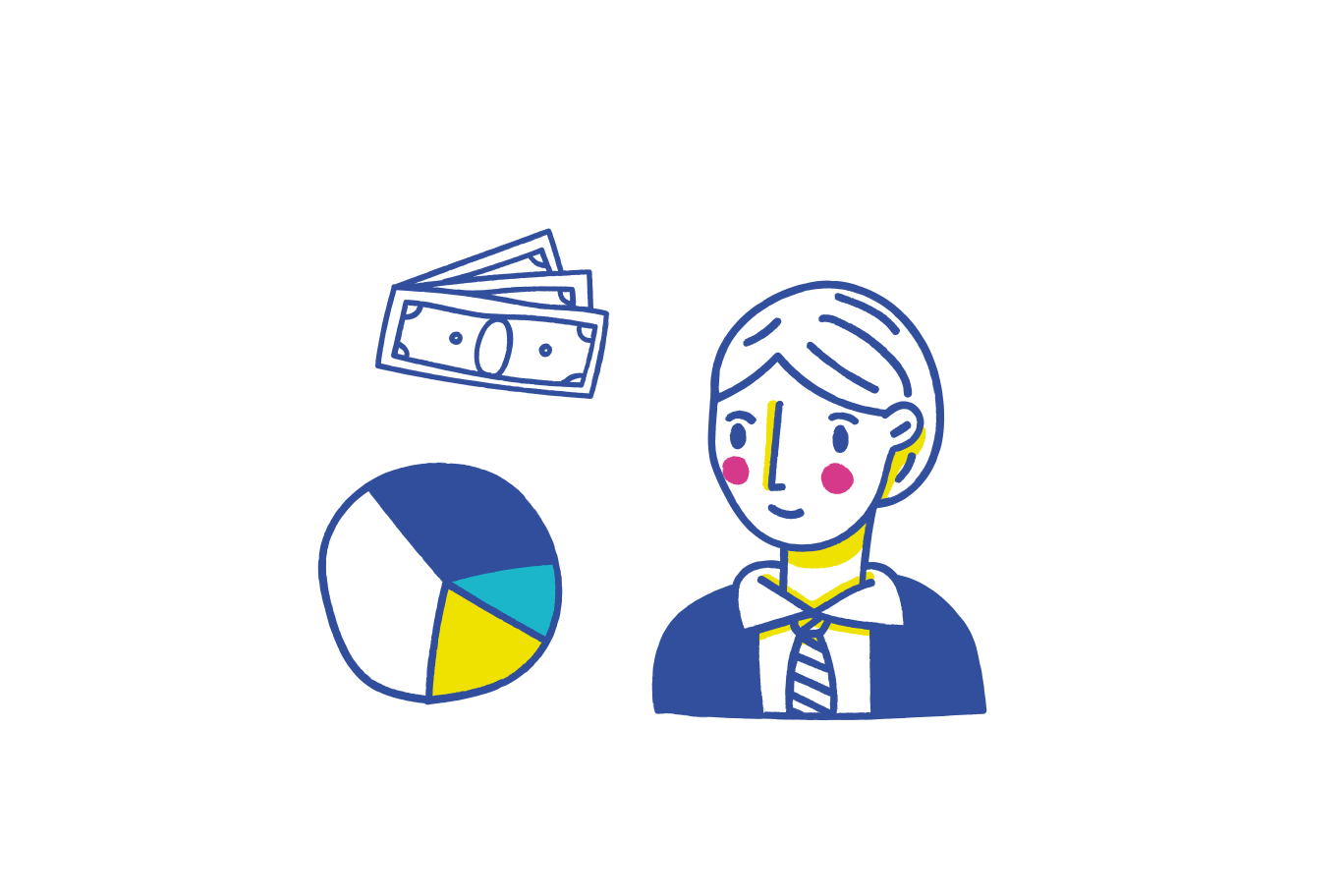 Financial report Clipart illustration in PNG, SVG