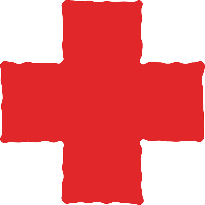 cross red Clipart illustration in PNG, SVG