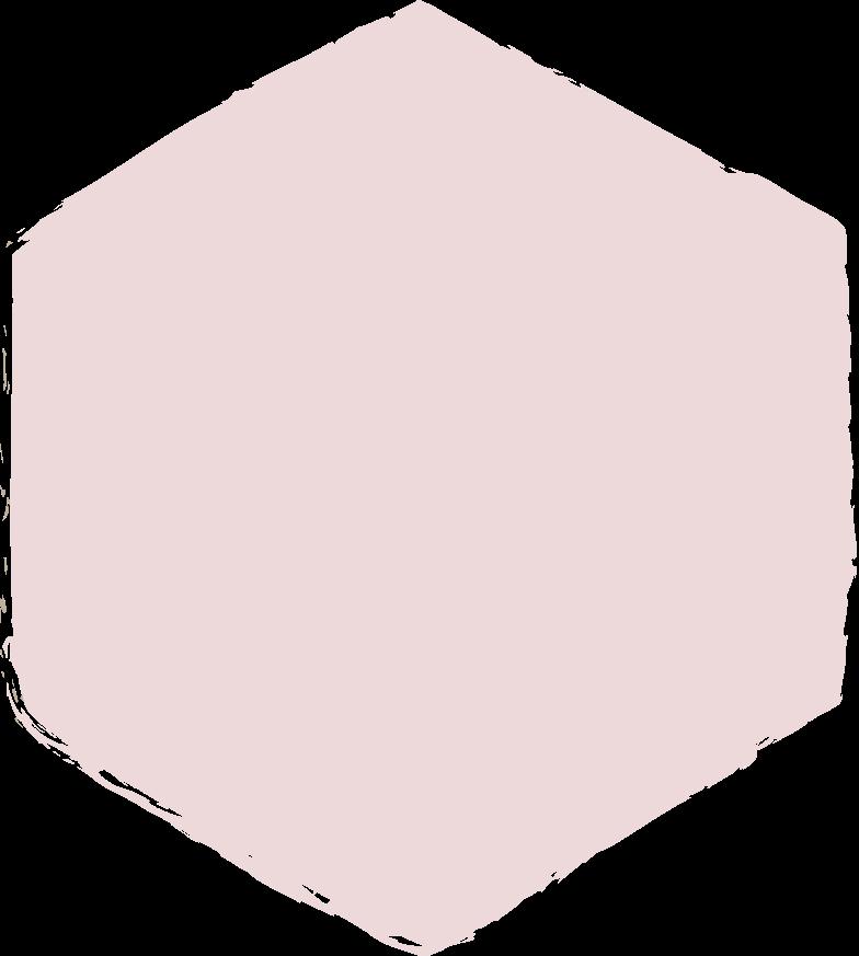 hexadon-pink Clipart illustration in PNG, SVG