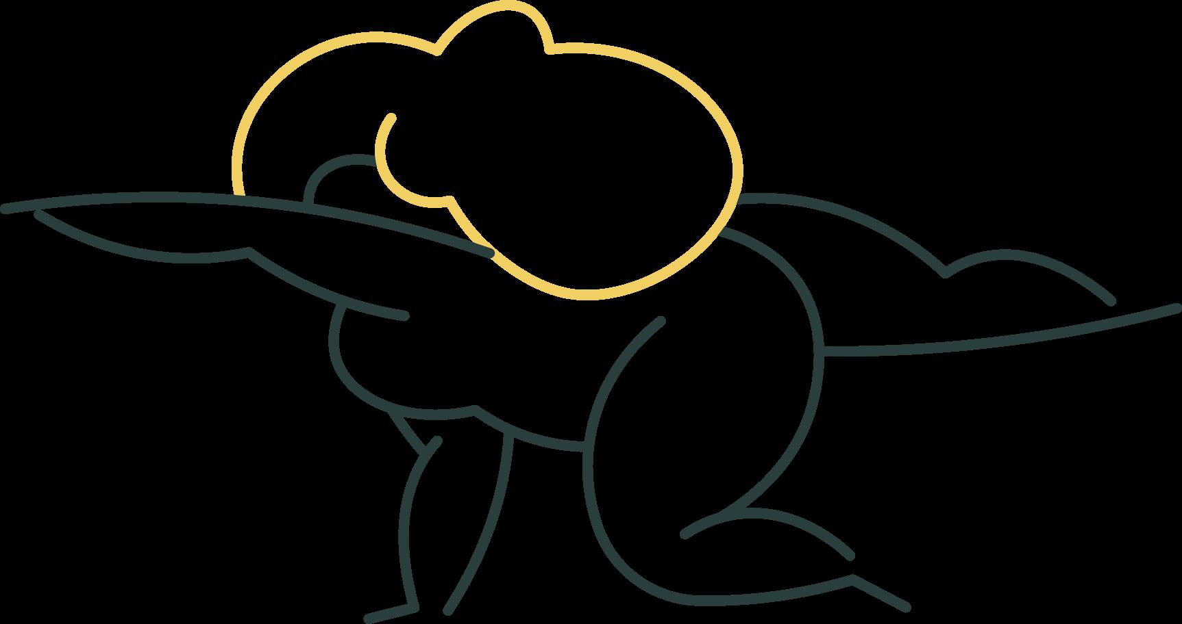girl yoga Clipart illustration in PNG, SVG
