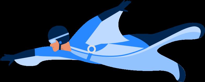 parachutist Clipart illustration in PNG, SVG