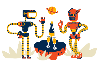style Robots on date images in PNG and SVG   Icons8 Illustrations
