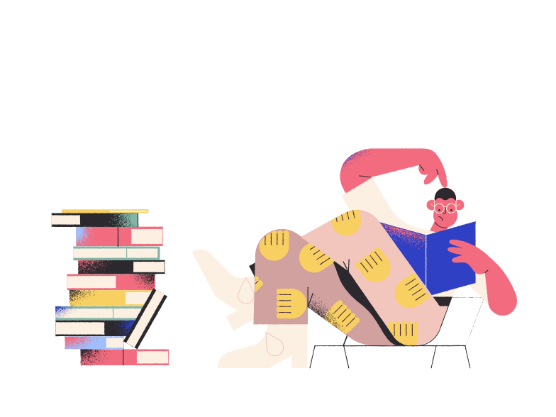 style Reading books Vector images in PNG and SVG | Icons8 Illustrations