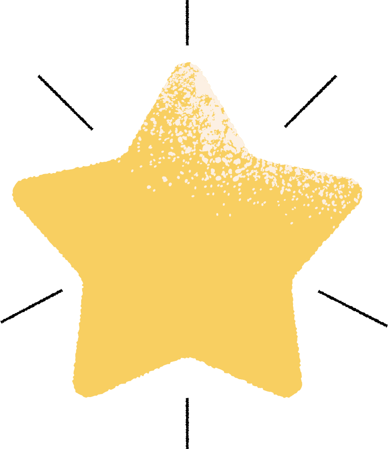 star with line Clipart illustration in PNG, SVG