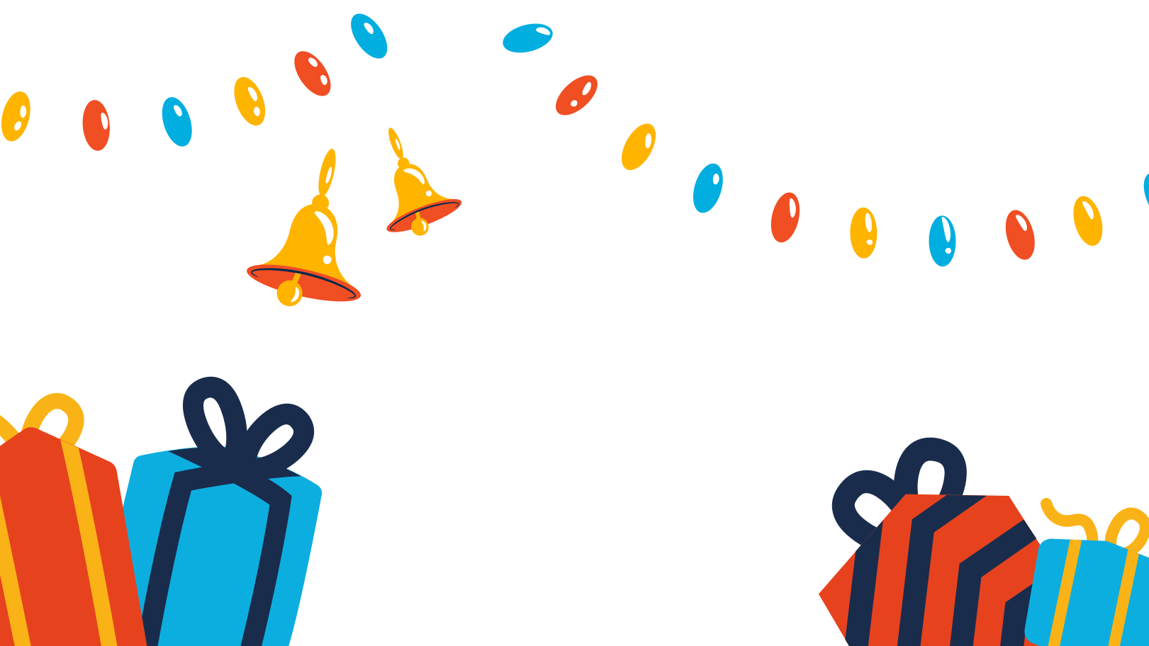 Christmas Gifts Clipart illustration in PNG, SVG