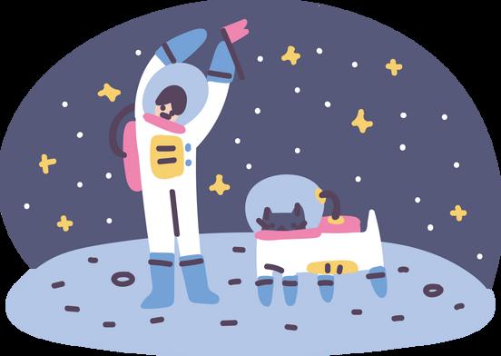 Иллюстрации в стиле Pluto в PNG и SVG | Иллюстрации Icons8