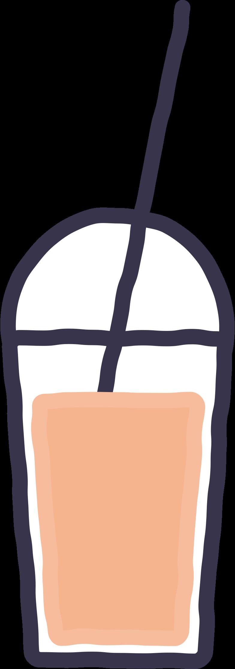 milkshake Clipart illustration in PNG, SVG