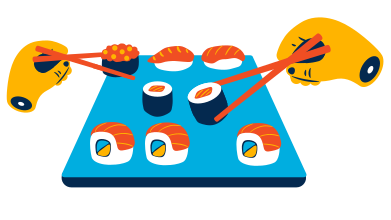 style Sushi images in PNG and SVG | Icons8 Illustrations