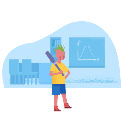 style Bully boy at the school images in PNG and SVG | Icons8 Illustrations