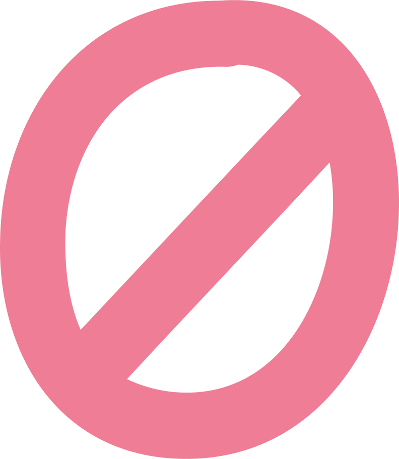 prohibiting sign Clipart illustration in PNG, SVG