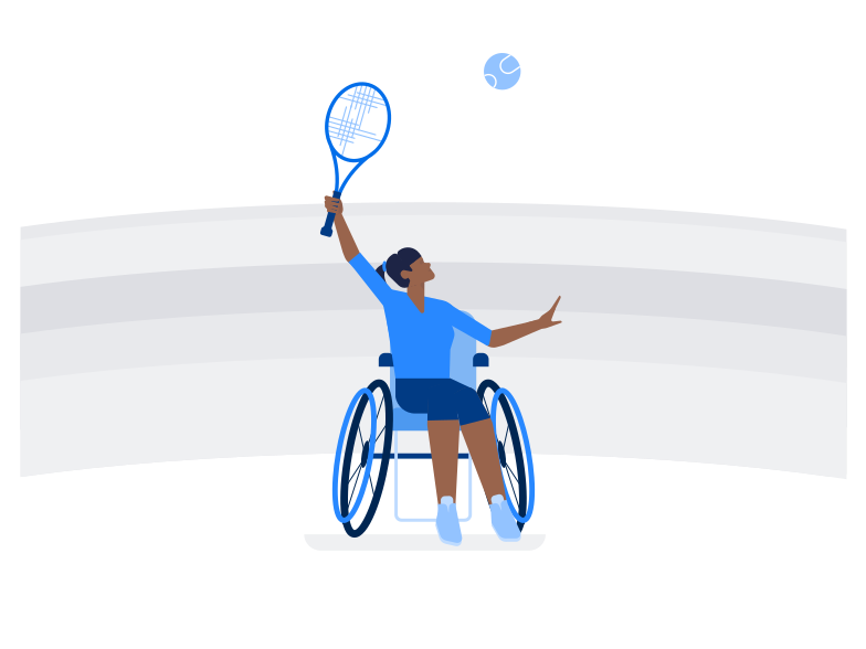 style Paralympic games Vector images in PNG and SVG | Icons8 Illustrations
