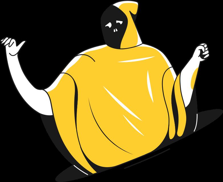 sad death Clipart illustration in PNG, SVG