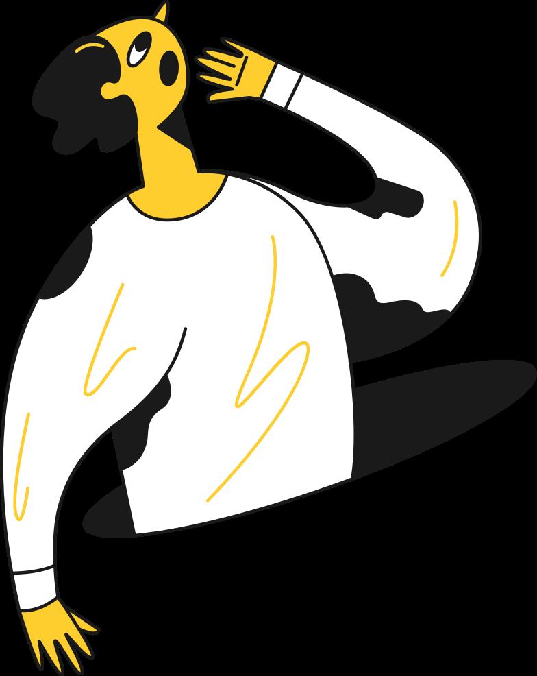 man surprised Clipart illustration in PNG, SVG