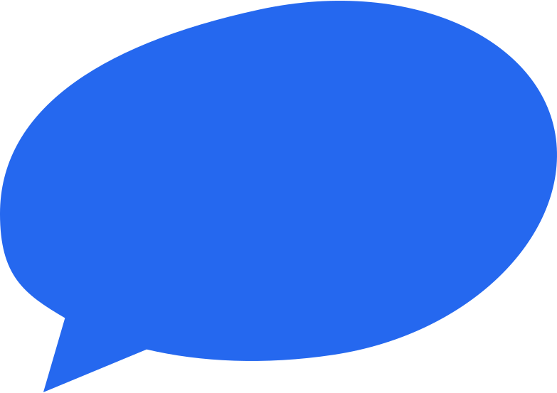 speach bubble 2 blue Clipart illustration in PNG, SVG