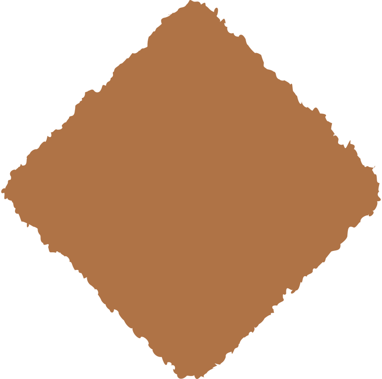 rhombus brown Clipart illustration in PNG, SVG
