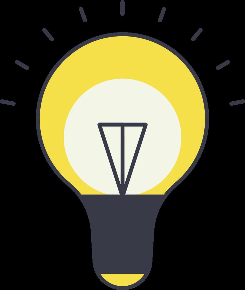 bulb Clipart-Grafik als PNG, SVG