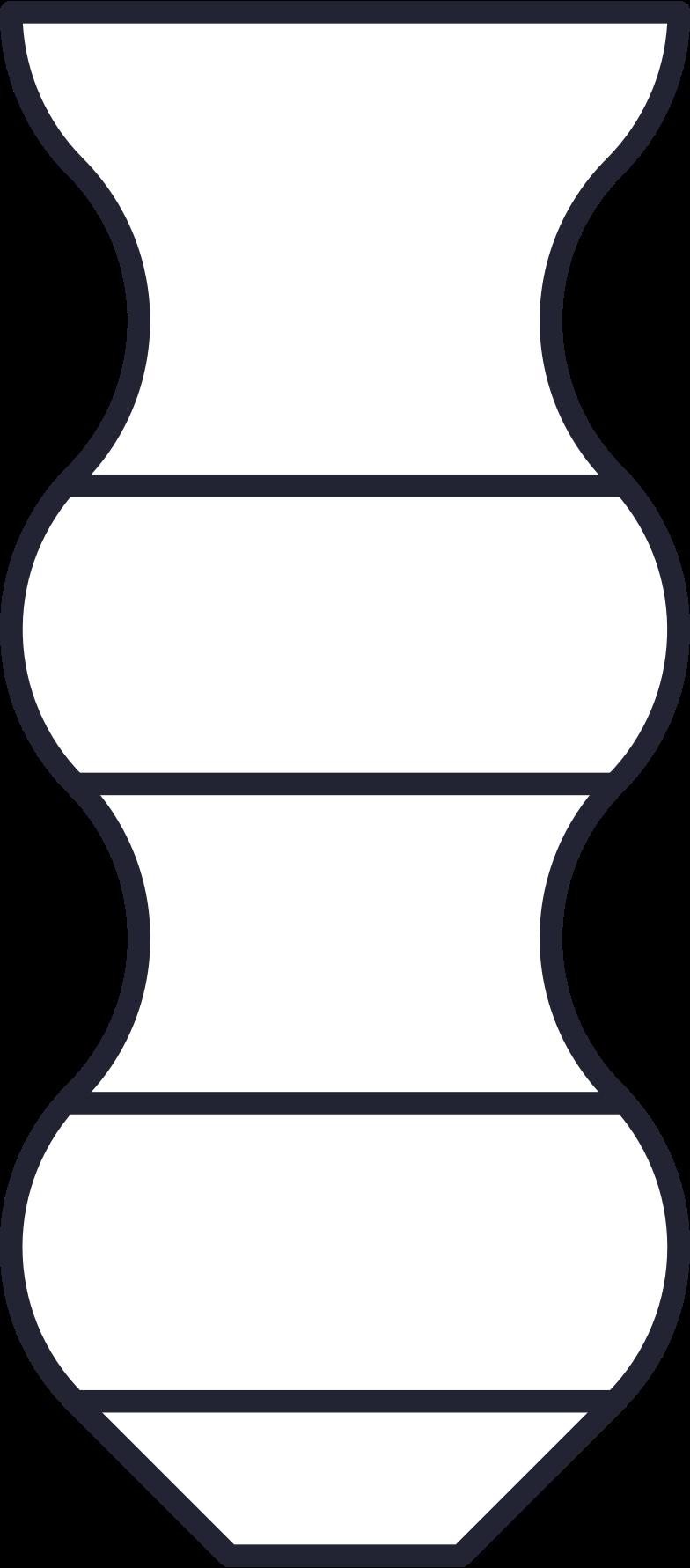Aufwachsen große vase Clipart-Grafik als PNG, SVG