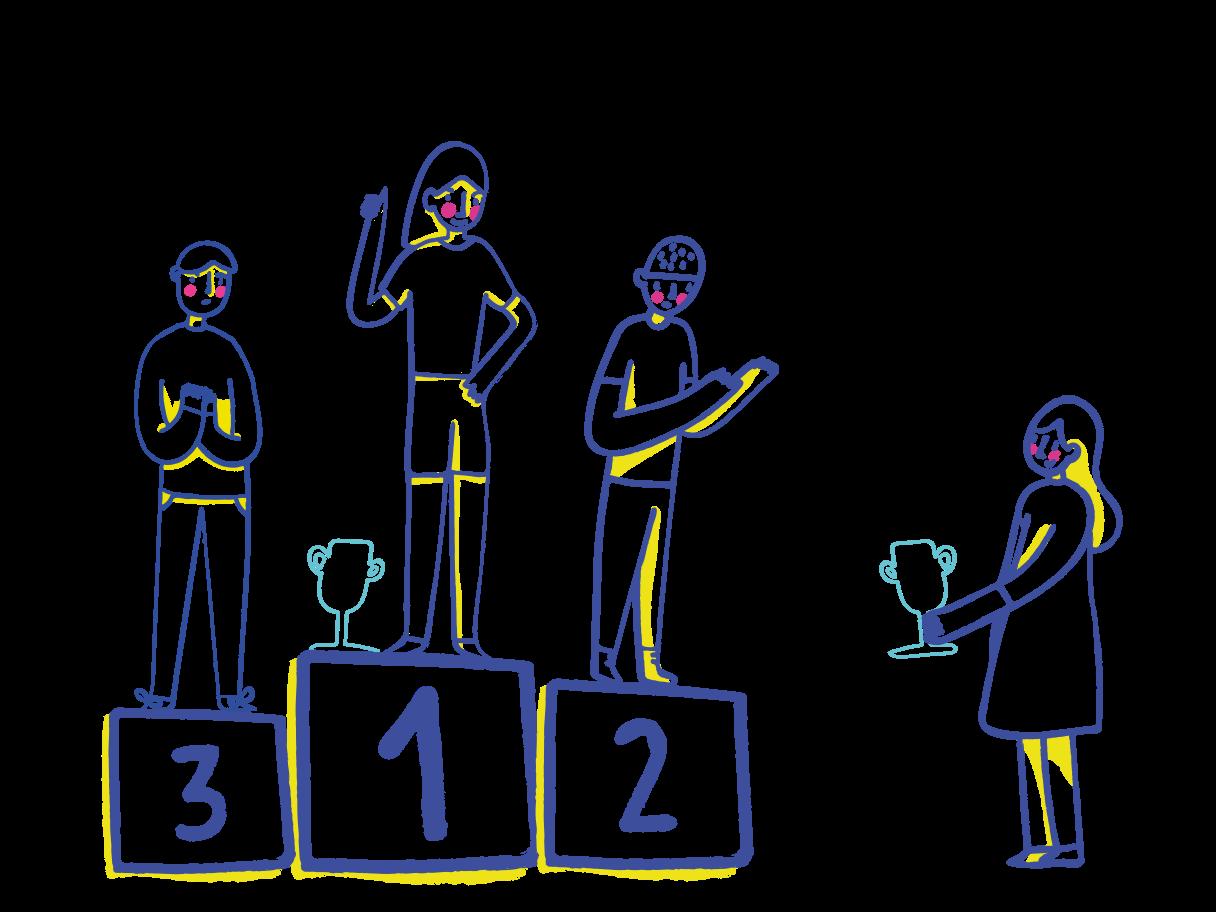 Rewarding Clipart illustration in PNG, SVG