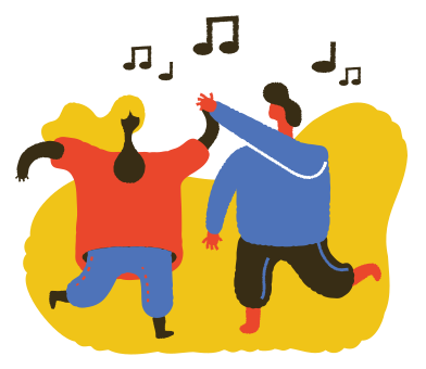 style Dancing images in PNG and SVG | Icons8 Illustrations
