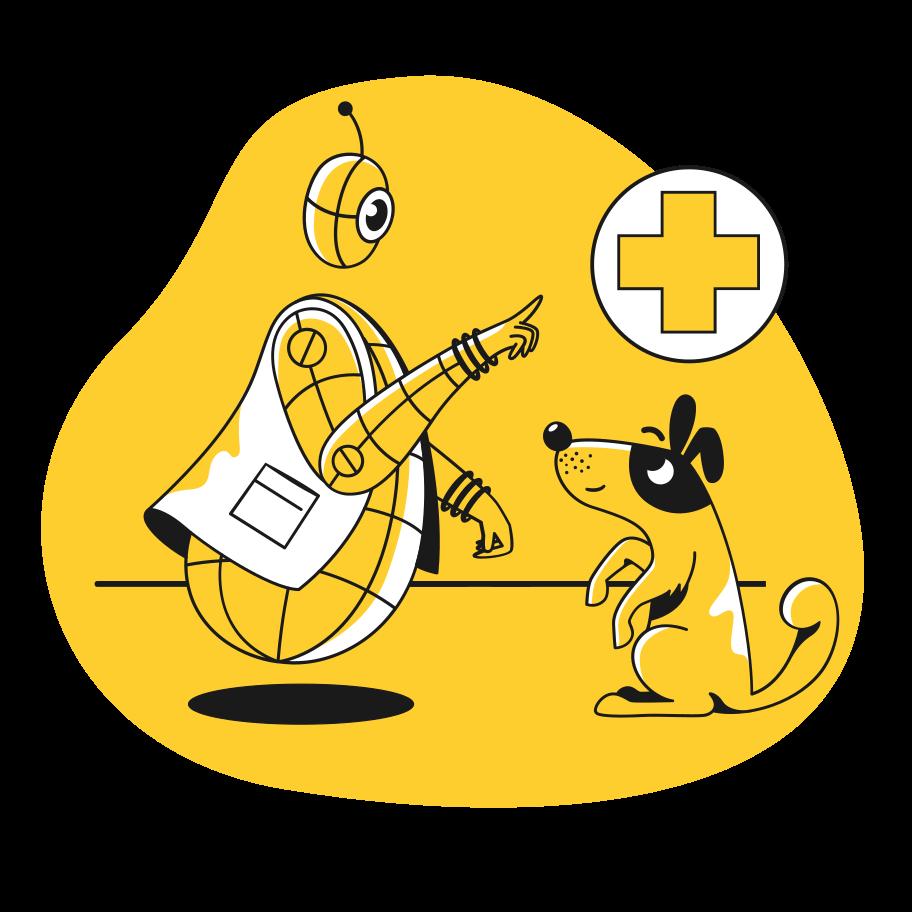 Veterinar Clipart illustration in PNG, SVG