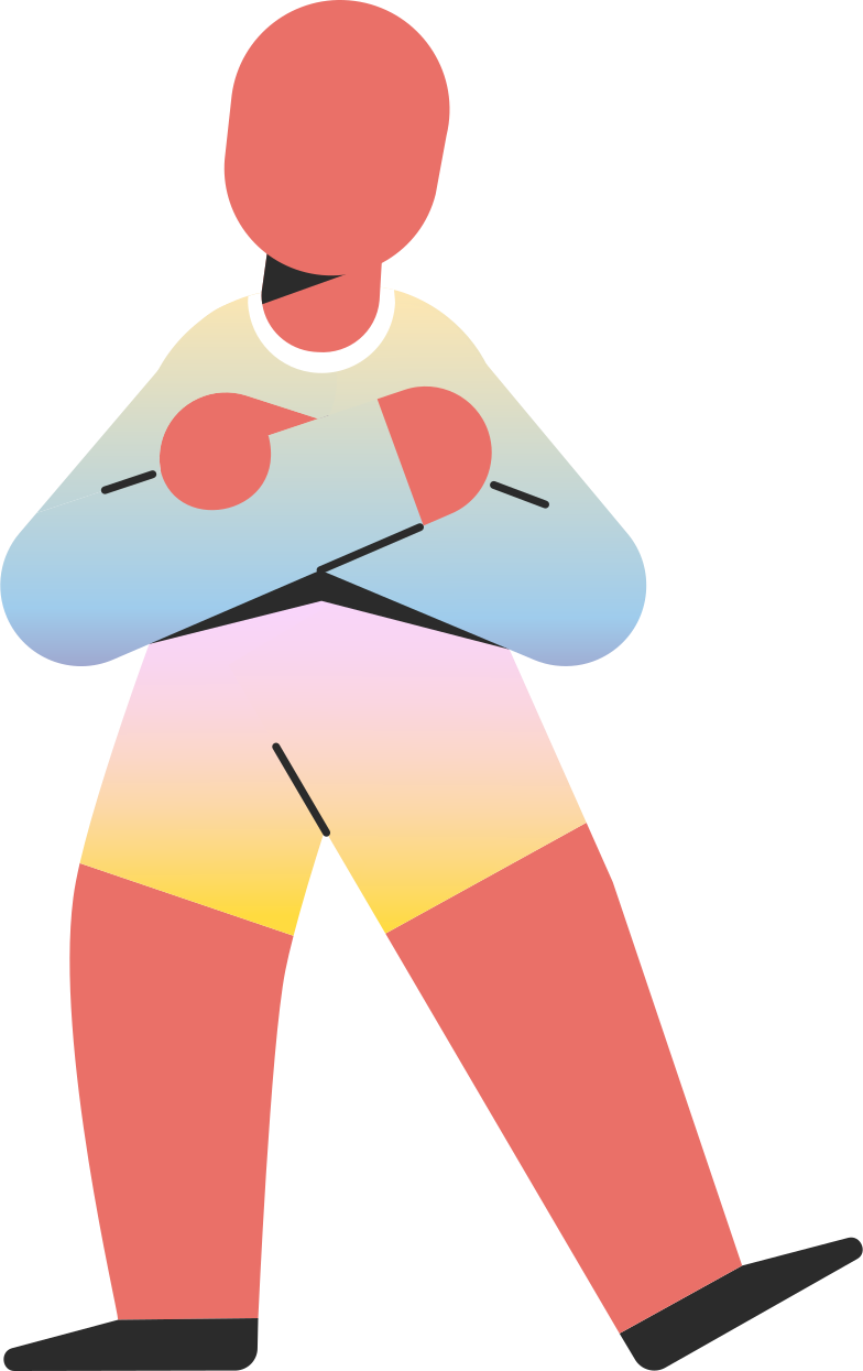 child standing Clipart illustration in PNG, SVG