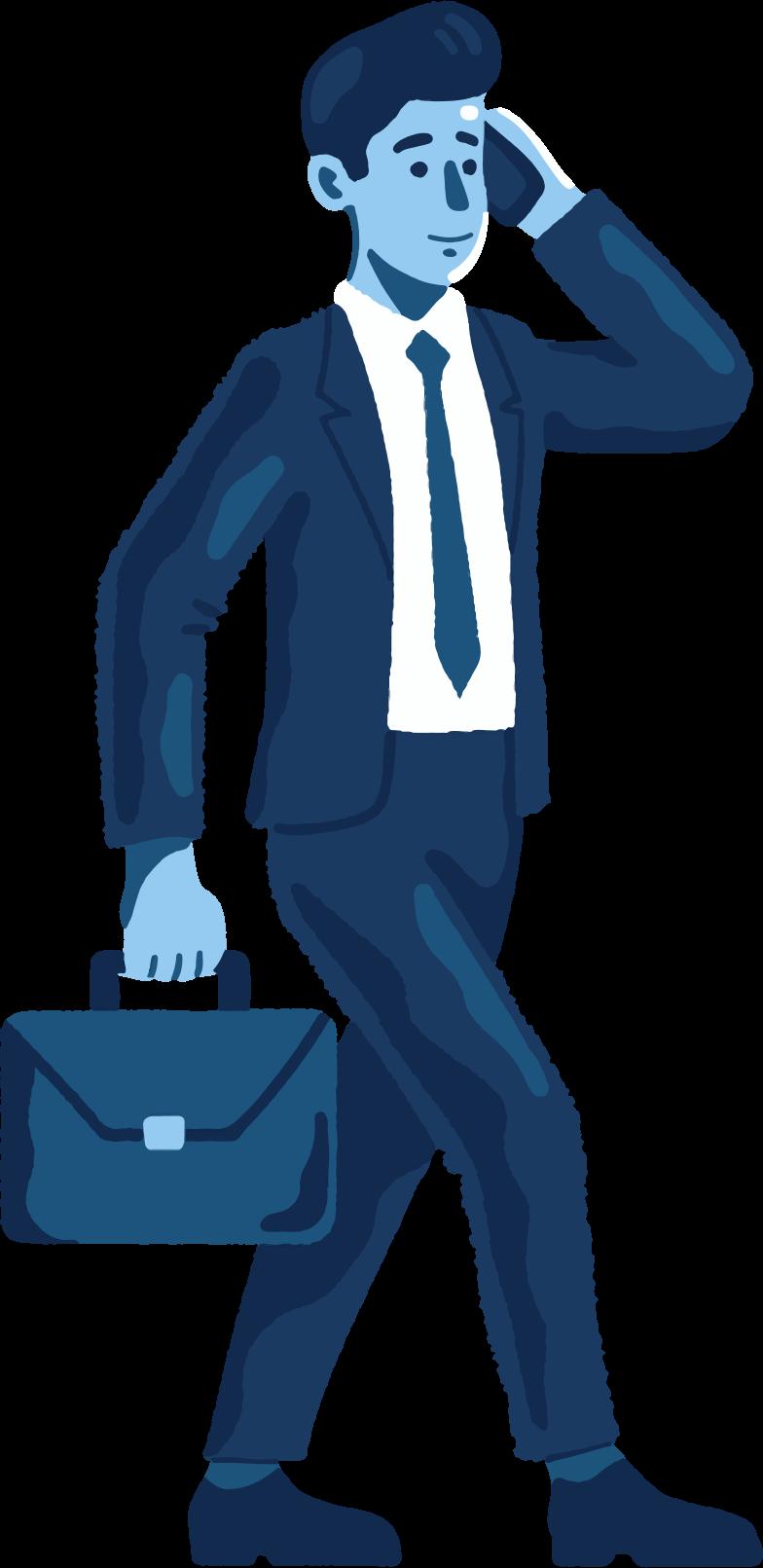 enterpreneur Clipart illustration in PNG, SVG