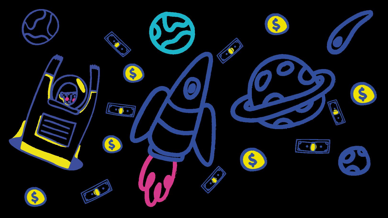 Ilustración de clipart de Dinero en PNG, SVG